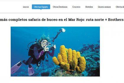 تصميم موقع سياحي لغتين سوينا ترافيل