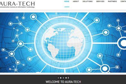 تصميم مواقع شركات اورا تيك